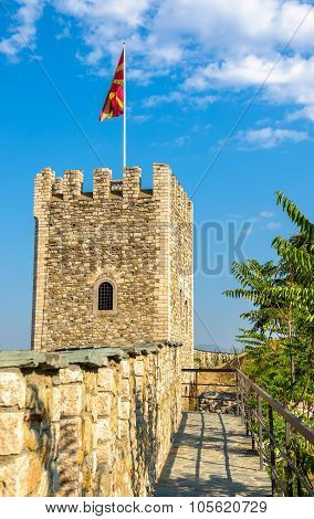 Tower Of The Skopje Fortress - Macedonia
