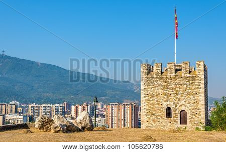 View Of Skopje From The Fortress - Macedonia
