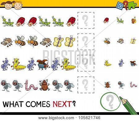 Pattern Task For Preschool Kids