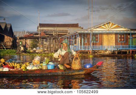Cambodia Culture Nature Person Poverty Concept