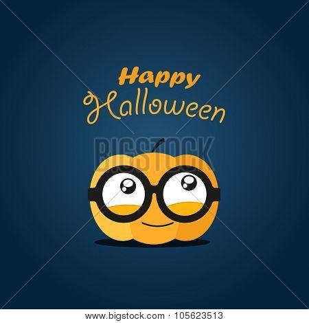 Halloween greeting card. Happy Halloween
