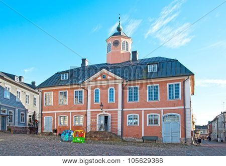 Porvoo. Finland. The Old Town Hall