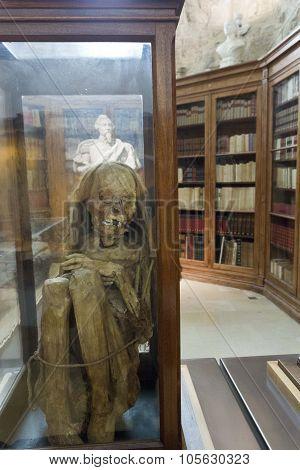 Peruvian Mummies Bodies Inside Carmo Convent
