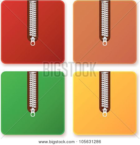 Colored Zip Archives Sets
