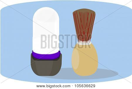 Brush and soap