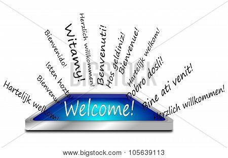 Welcome Wordcloud