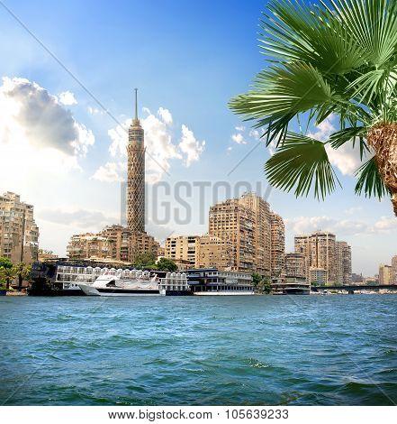 TV tower near Nile