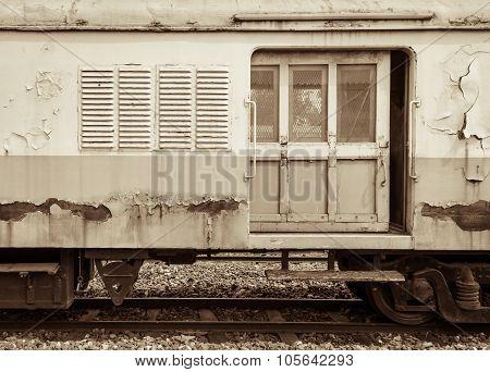 Abandoned Cargo Train