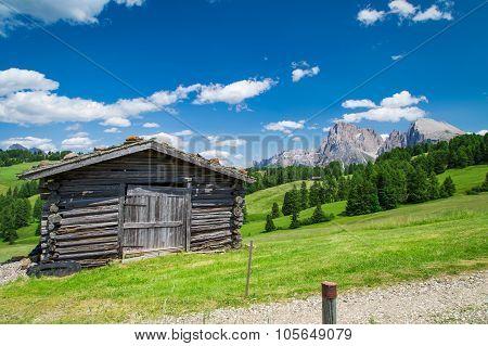 Panorama Of Sella Group, Dolomiti,trentino