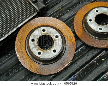 rusty rotors
