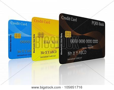 Credit Cards In A Row