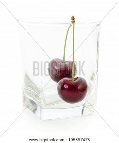 Cherries And Glass.