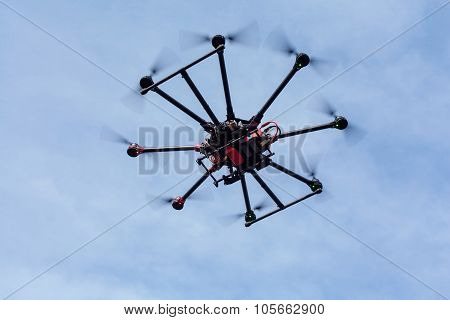 Octocopter, copter, drone