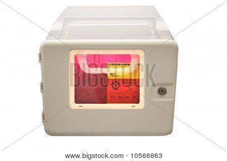 Biohazard Sharps Disposal Box