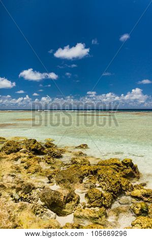 Paradise View Of Rangiroa Atoll, French Polynesia