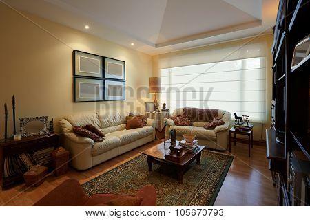 Interior design: Classic Living Room
