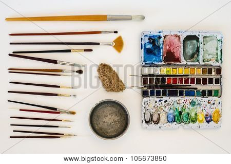 Water-colour Tools