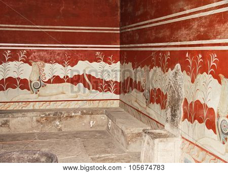 Throne Room Knossos