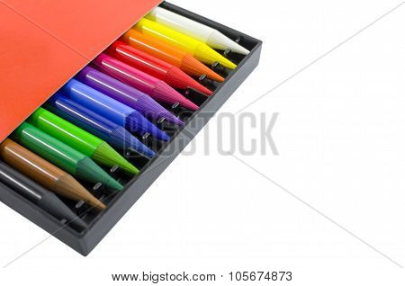 Woodless Colored Pencils In The Box