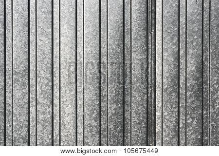 Corrugated sheet.