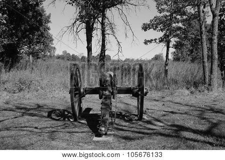 Civil War Cannon