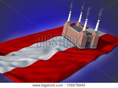 national heavy industry concept - Austrian theme
