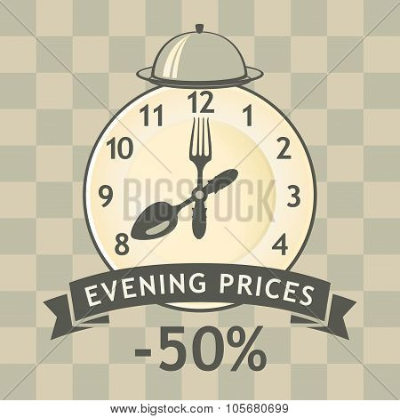 Discount Evening In Restaurant