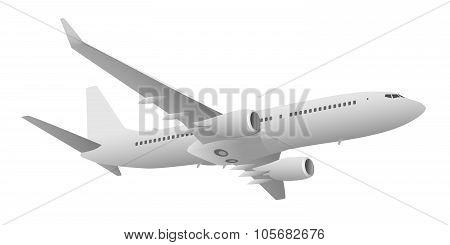 Passenger Jet Airliner