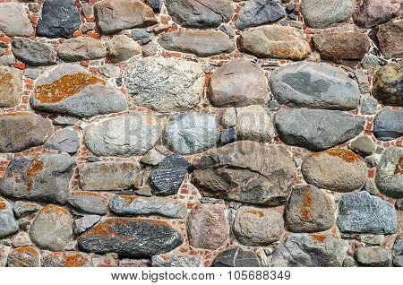 Old Wall Of Stones
