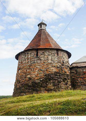 Nikolskaya Tower Of Solovetsky Monastery