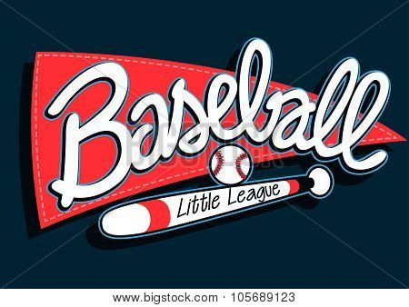 Baseball League Childrens Banner Background