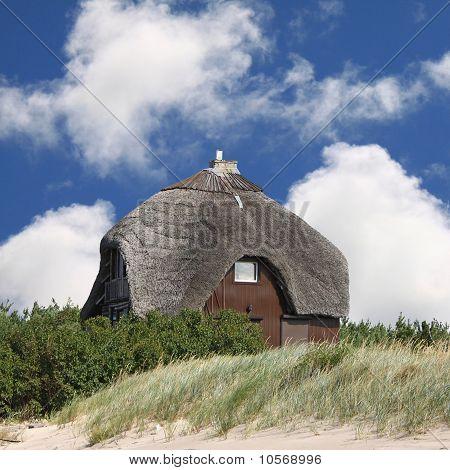 Summerhouse on the beach
