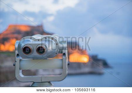 The Old fortress of Corfu island Greece