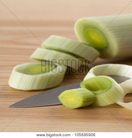 Cutting Leek