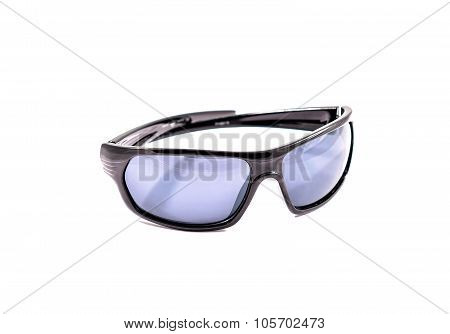 Protective Gear Sport Sunglasses Isolated In White