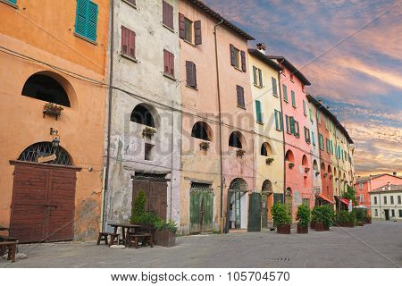 Old Town Of Brisighella, Ravenna, Italy
