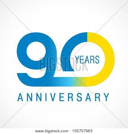 90 anniversary classic logo.