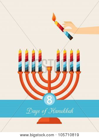 eight days of Hanukkah