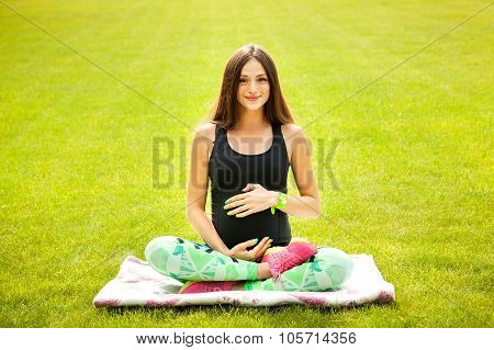The Beautiful Pregnant Woman