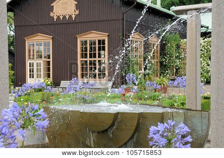 The Garden Of Tradgardsforeningen In Gothenburg