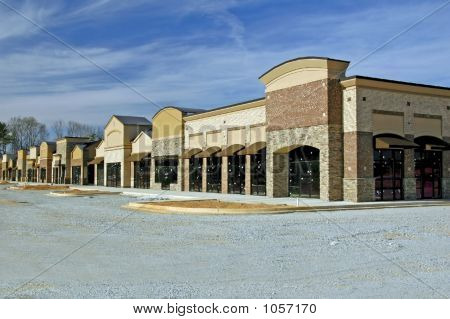 Shopping Center Construction