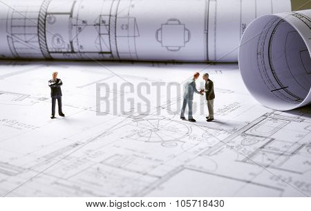 Architecture Plans With Character