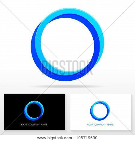 Letter O logo icon design template elements - Illustration.
