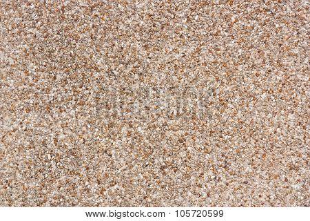 Close Up Rough Gravel Floor Texture.