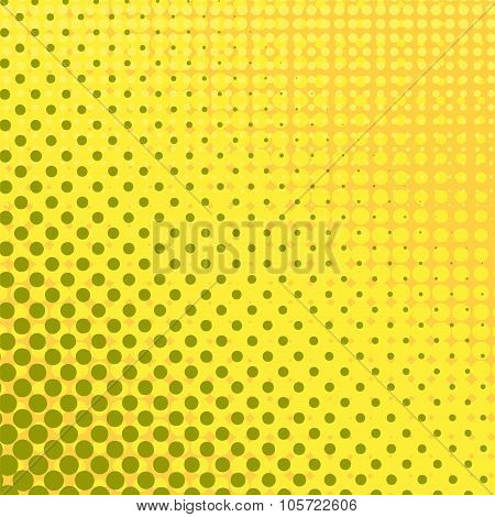 Halftone Patterns. Set of  Dots.