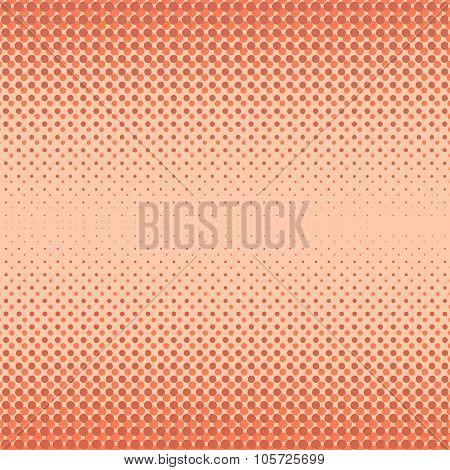 Halftone Patterns.  Dots on White Background.