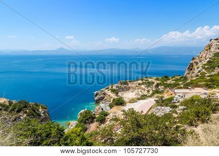 Sanctuary Of Hera  In Greece