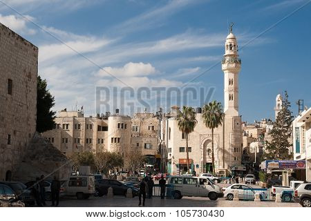 The Mosque Of Omar in Bethlehem