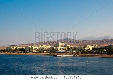 Aqaba, Jordan, Early Morning On The Red Sea