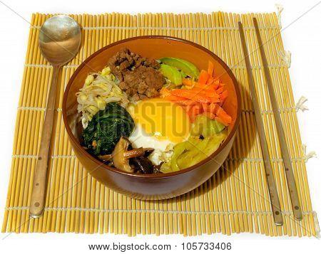 Bibimpab Korean Dish